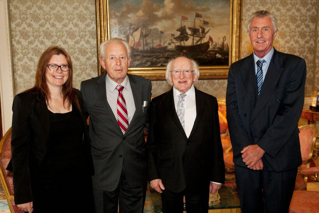 CRY meet President Higgins